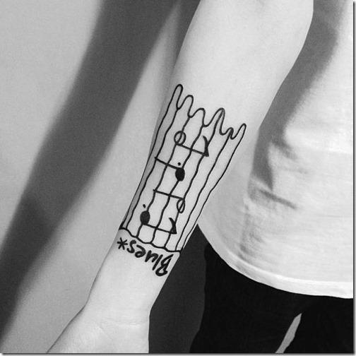 partitura_con_rasgos_fuertes_en_el_brazo