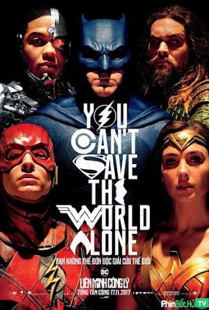 Phim Liên Minh Công Lý - Justice League (2017)