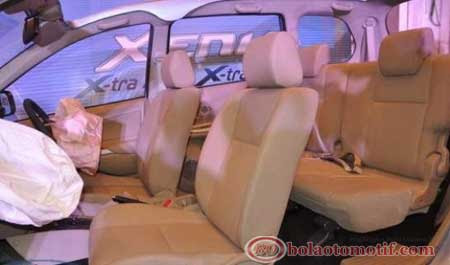 Interior New Daihatsu Xenia X-tra 2013