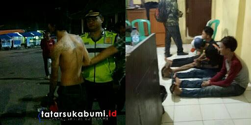 Puluhan Motor dan 3 Pemuda Mabuk Terjaring Razia Polisi di Cibadak
