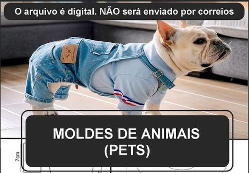 PACOTE DE MOLDES EM PDF DE ROUPAS E ACESSÓRIOS PET