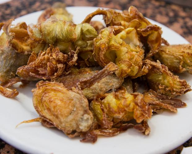 photo of Fried Artichokes