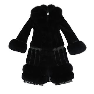 Just Cavalli Rabbit Fur Coat