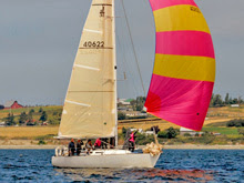 J/35 sailing Whidbey Island race week