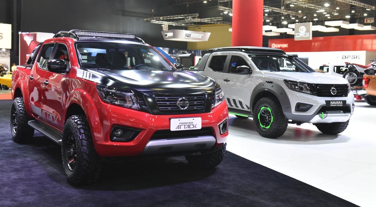 Nova Car Wallpaper Nissan Frontier Attack Concept