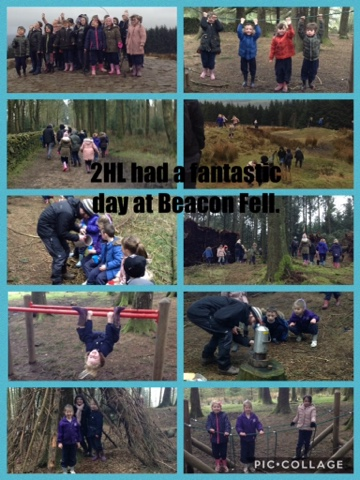 2HL's outdoor education day at Beacon Fell