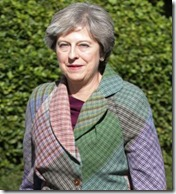 Prime Minister Theresa May arriving for a Macmillan Cancer charity coffee event in Reading, she responded to claims of a plot involving Tory MPs to oust her from Number 10, saying she is providing