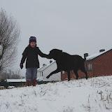 Jipie! Sneeuwpret met Larsje