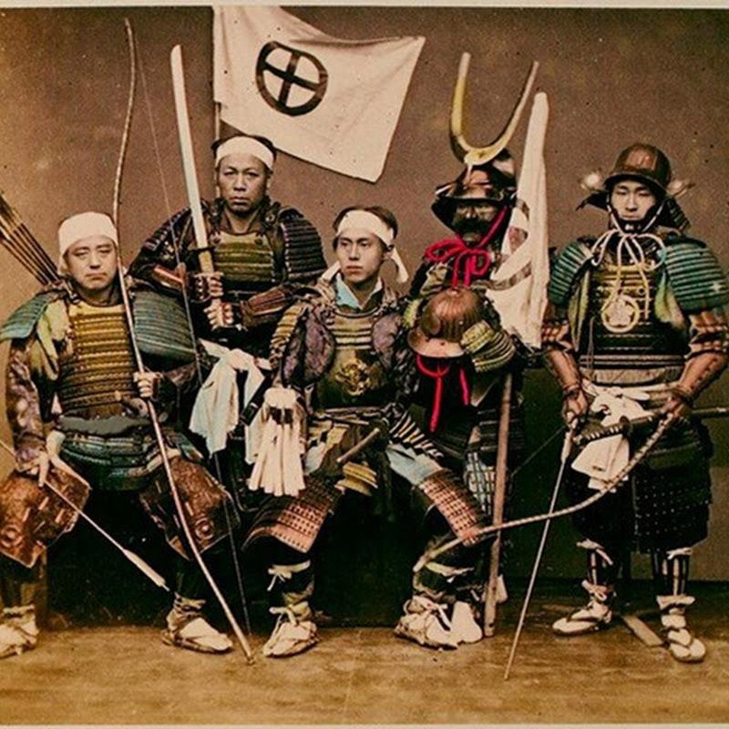 O últimos samurais - fotos raras do Japão do século 19