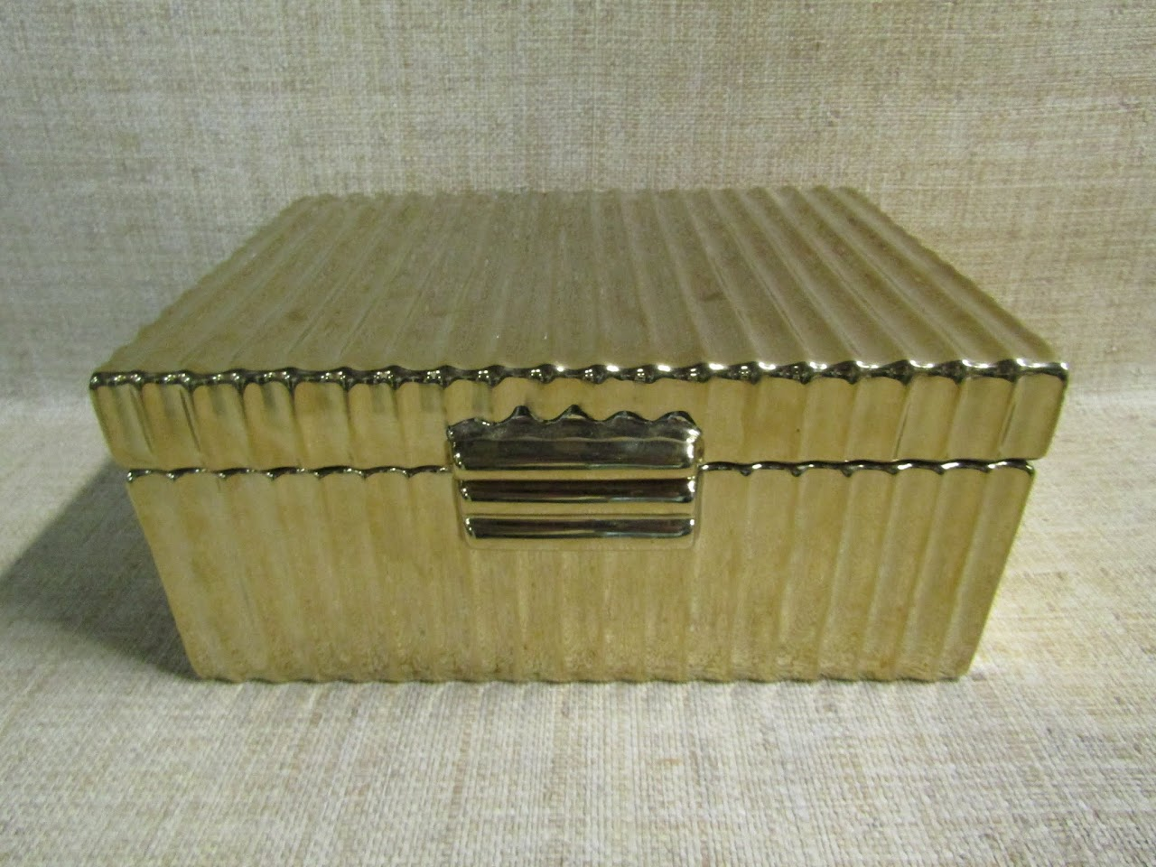 Golden Trinket Box