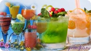 безалкогольные новогодние напитки
