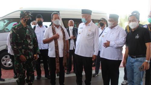 Gubernur Mahyeldi Berharap Kunjungan Menteri KKP Bisa Sejahterakan Masyarakat Sumbar Bidang Kemaritiman dan Perikanan
