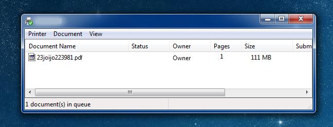 printing pdf files from chrome