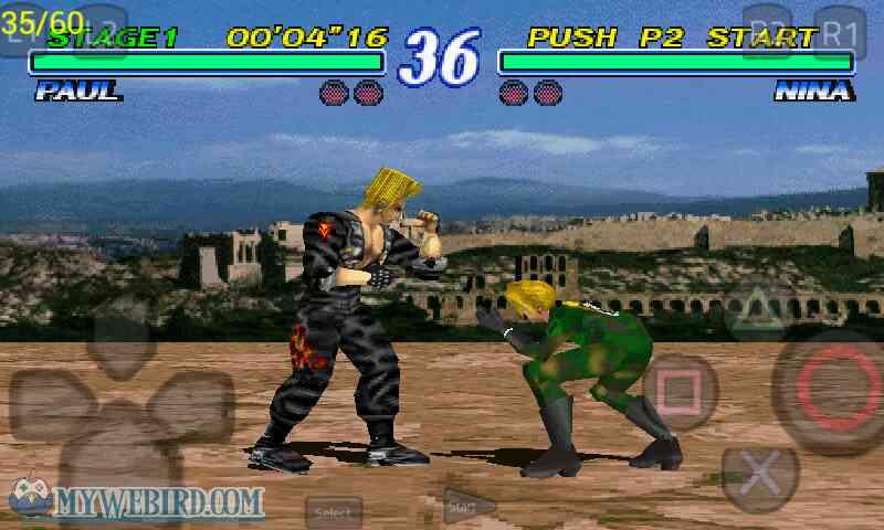 Tekken 2 Playstation 1 Replay