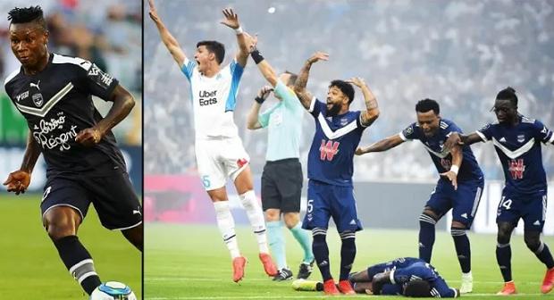 Ligue 1: L'international nigerian victime d'un malaise face à Marseille (Vidéo)