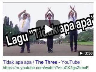 grup komedian jepang the three eksis di dacademy 4 Indonesia