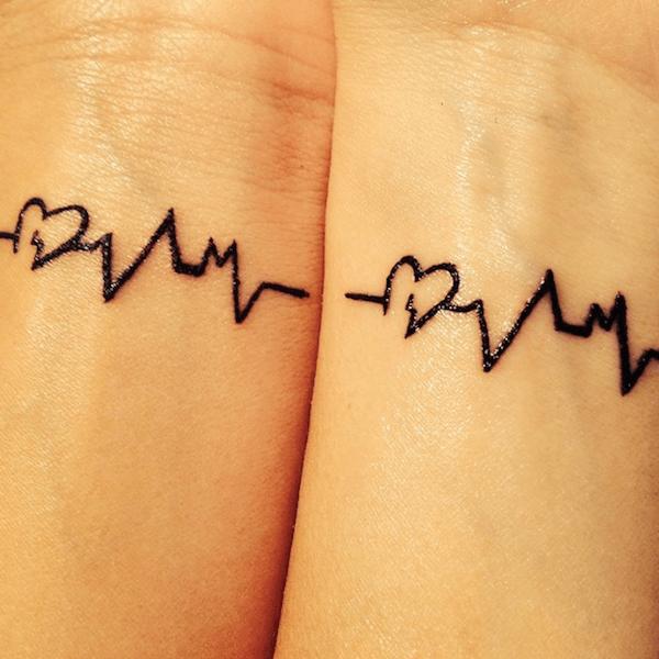coraço_e_vida_de_linha_de_tatuagens