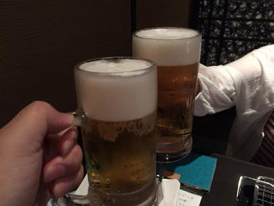 生ビールで乾杯 炙り(あぶり)居酒屋・焼き鳥 東方見聞録 秋葉原店 千代田区神田