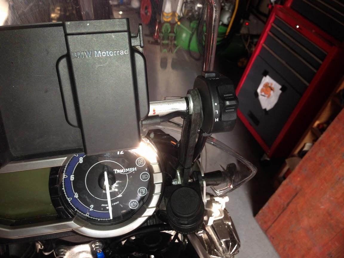 Zusatzscheinwerfer - Technik Tiger Serie mit 800ccm (ab Bj. 2011 ...