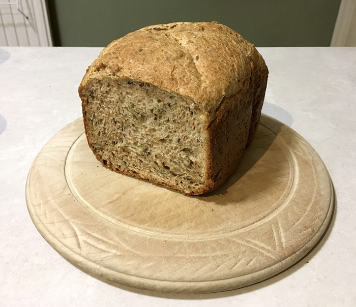 Seedy Bread from Bread Maker 18-12-18