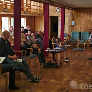 Kõrgema Usuteadusliku Seminari õppesessioon Nuutsakul