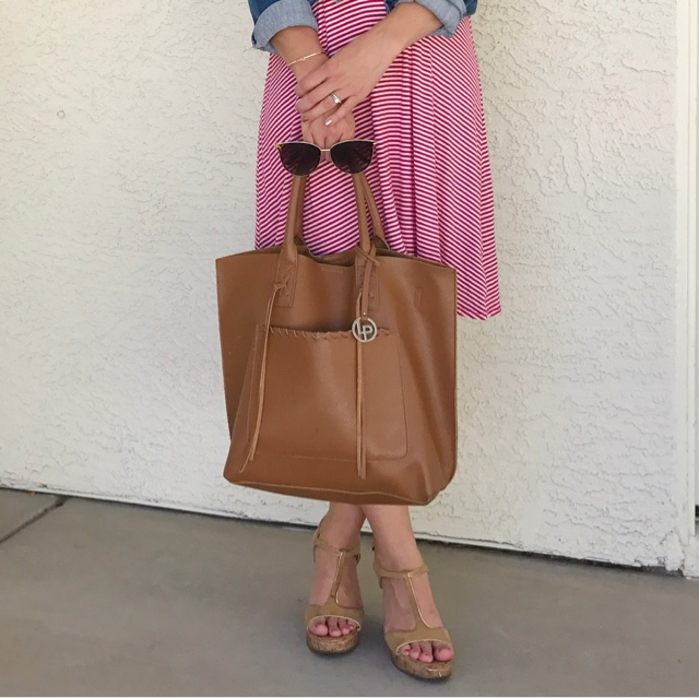Thrifty Wife, Happy Life- congac tote for fall