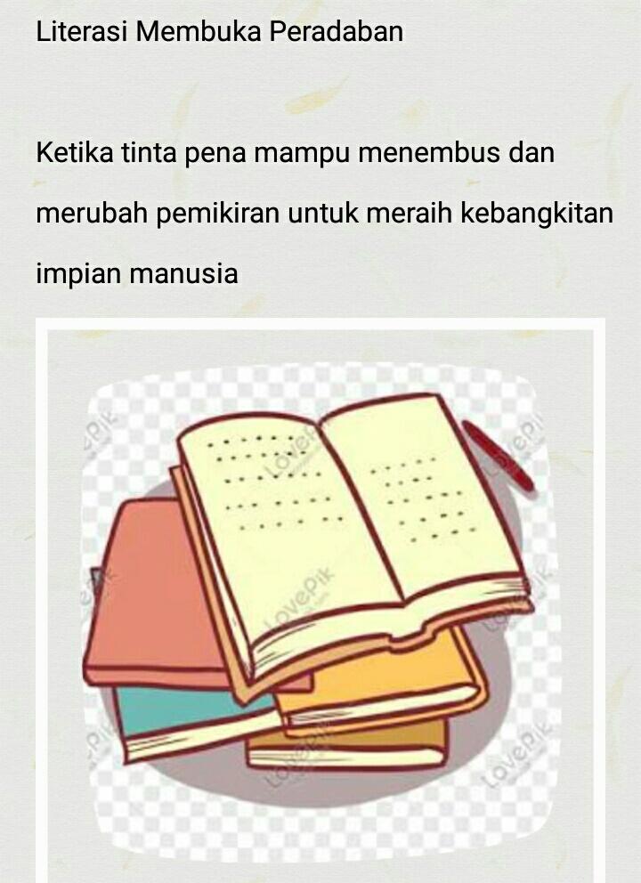 Literasi Membuka Peradaban