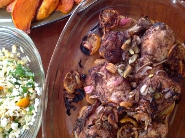 Home On My Range: Roast Chicken Mediterranean Style