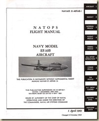 Douglas EF-10B Flight Manual