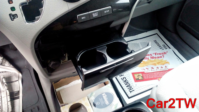 Toyota Sienna置杯架