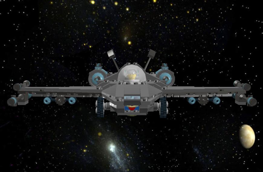 Star Scout B Class Star Fighter LDDScreenShot1716