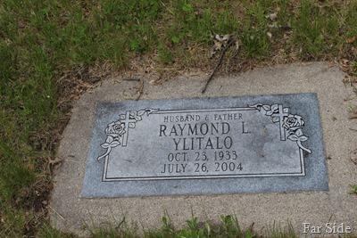 Uncle ray Yitalo Gravemarker