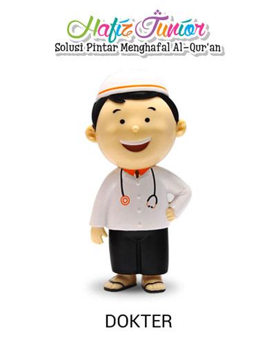 boneka hafiz junior dokter