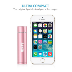 Anker 2nd Gen Astro Mini Lipstick-Sized Portable Charger - 3200mAh - image