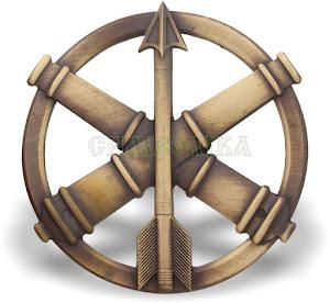 Беретний знак Протиповітряної оборони та зенітноракетних військ