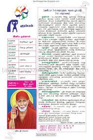 Kumudam Jothidam Raasi Palan - 9/9/2015 to 15/9/2015