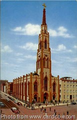 St. Alphonsus Catholic Church, Baltimore, MD. Thanks to cardcow.com for the image.