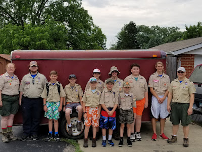 Boy Scout Troop 392 Summer Camp 2017