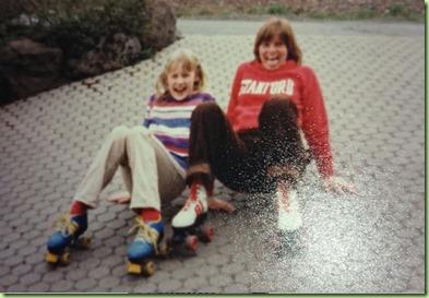 Sonja and Carol circa 1980