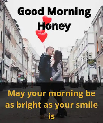 good morning honey quotes