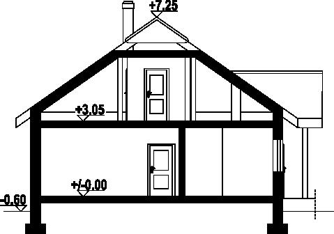 Adresów - Przekrój