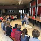 Blindegeleidehond op bezoek 2017