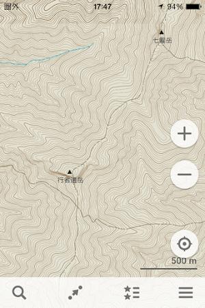 MAPS.MEと地形図