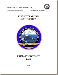 Beechcraft_Raytheon T-6B Texan II Flight Training Instructions