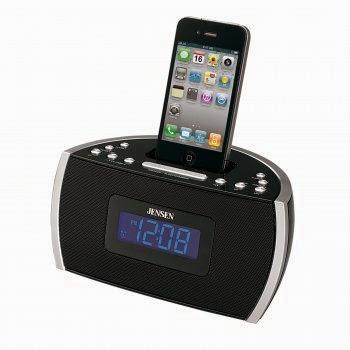 JENSEN JiMS-125i Docking Digital Music System for iPhone(R)/iPod(R)