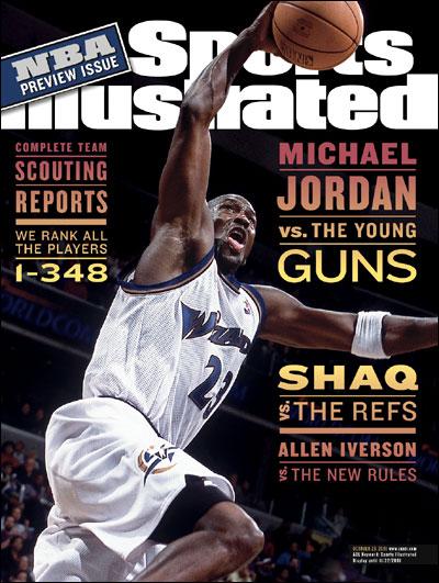 *Sports Illustrated:慶祝Michael Jordan 50歲生日封面特輯回顧! 13