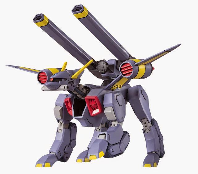 Gundam Mobile Bucue HG Seed R-12 với hình dáng đặc biệt được thiết kế để chiến đấu trên mặt đất