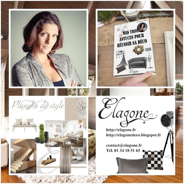 ♥PUB : Florence ALBERT Elagone Décoratrice Styliste