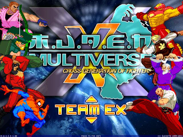 Mugen Multiverse - Cross generation of fighters. MvDvSvC evolution. Mugen003