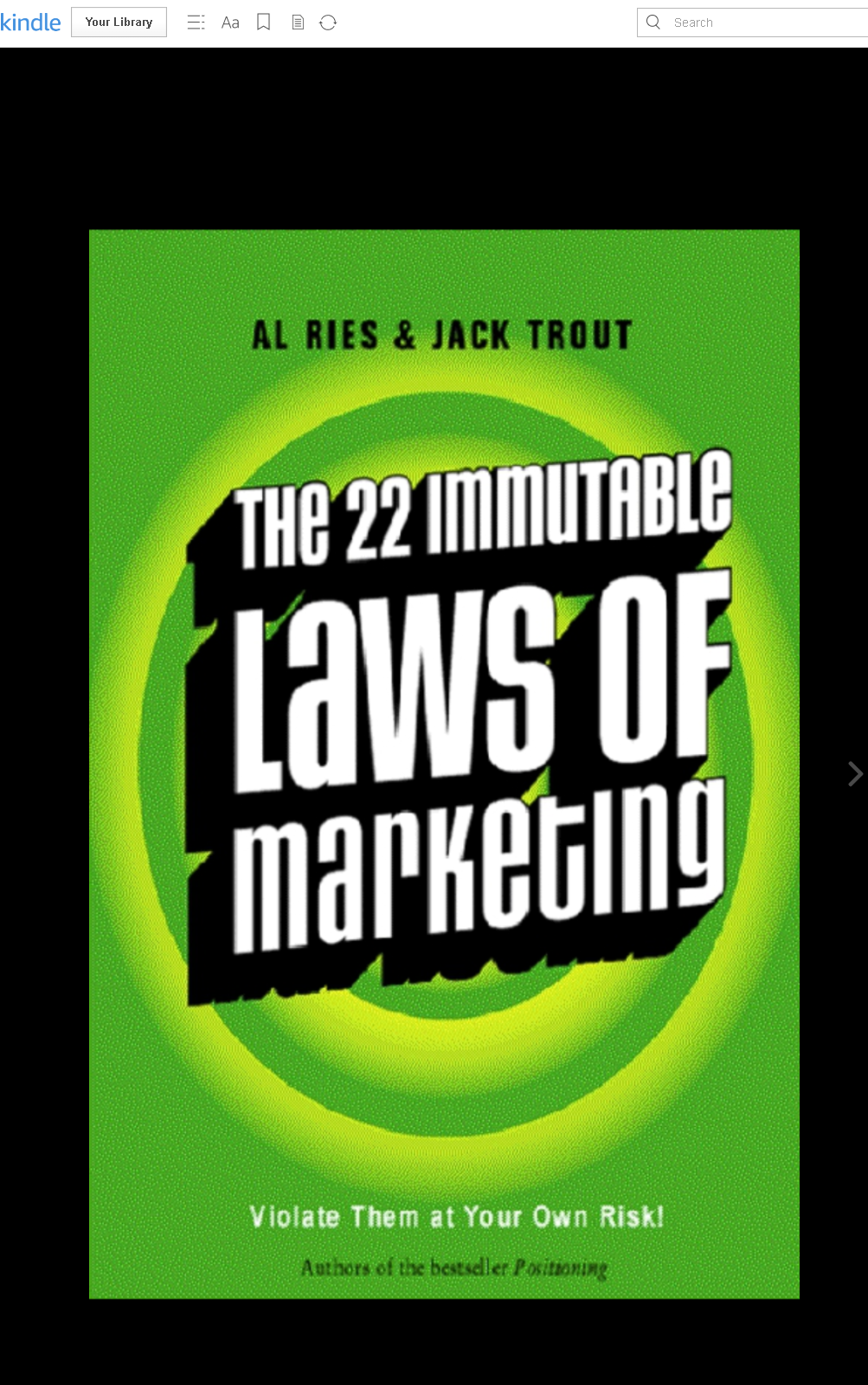 Review Buku The 22 Immutable Laws of Marketing karanga AL RIES & JACK TROUT
